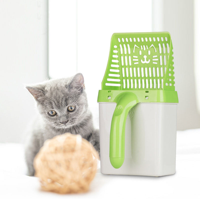 Neater Litter Genie Scooper Cat Litter Sifter Scoop System Kitty Litter Scooper with Extra Waste Bags by Neater Litter Scooper