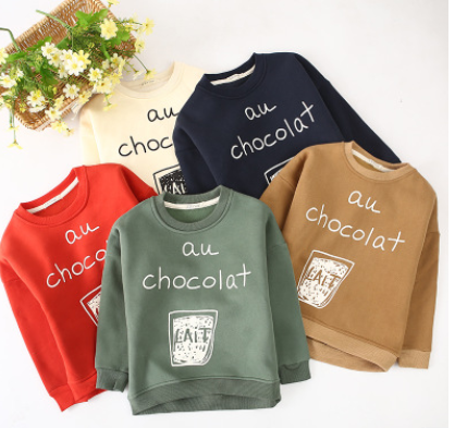 In autumn 2016 children children sweater Korean small children all-match cotton Pullover Sweater wholesale manufacturers boys