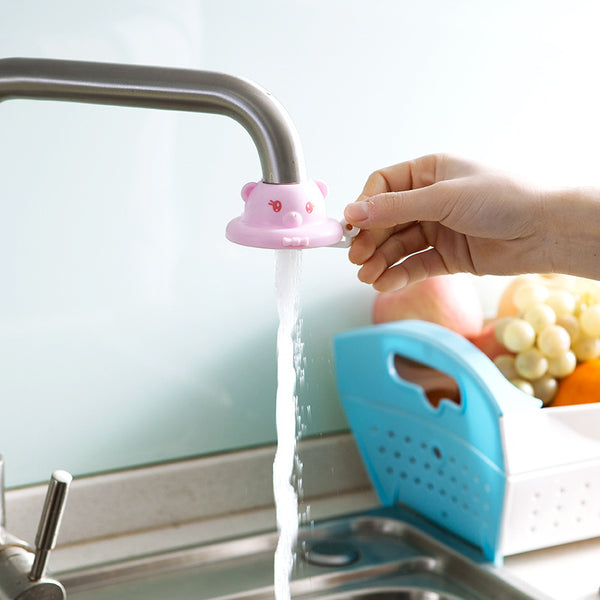 Cartoon faucet water saving device