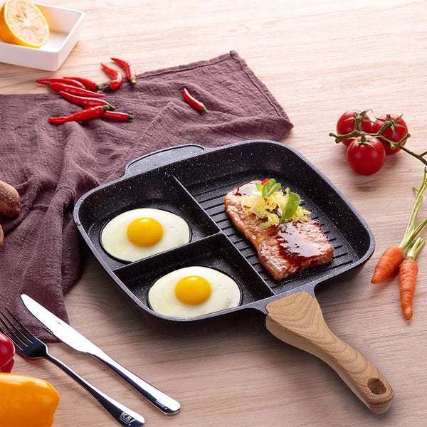 Maifanshi fried steak pot multi-function household omelette pan pan induction cooker non-stick pan