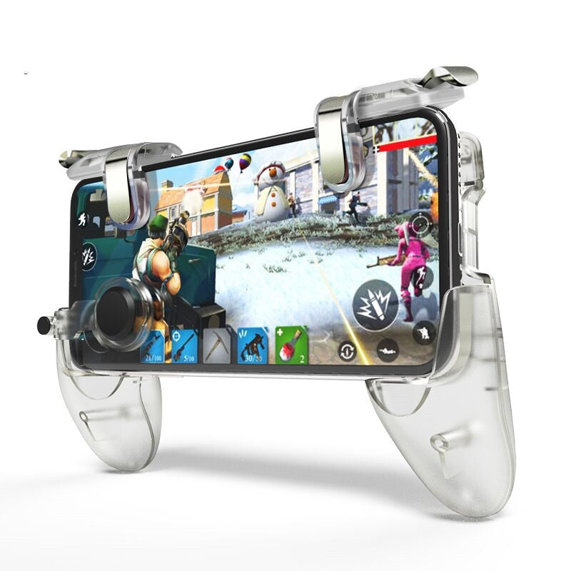 Data Frog For Pubg Game Gamepad For Mobile Phone Game Controller l1r1 Shooter Trigger Fire Button For IPhone For Free Fire