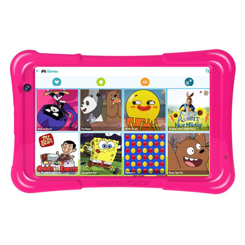 Dragon Touch Y80 Kids Tablet 8 inch HD Display Android 9.0 Tablets for Children 16GB Quad core 1.5GHz USB Android 8.1 tablet PC