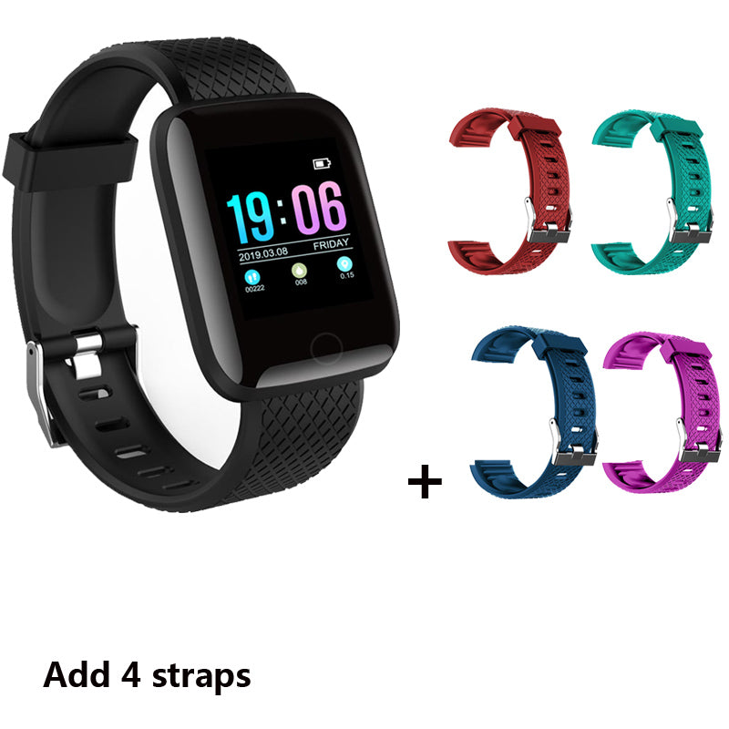 Bluetooth Smart Watch Men Women Heart Rate Monitor Smartwatch Blood Pressure Fitness Tracker Watches Waterproof For Android IOS
