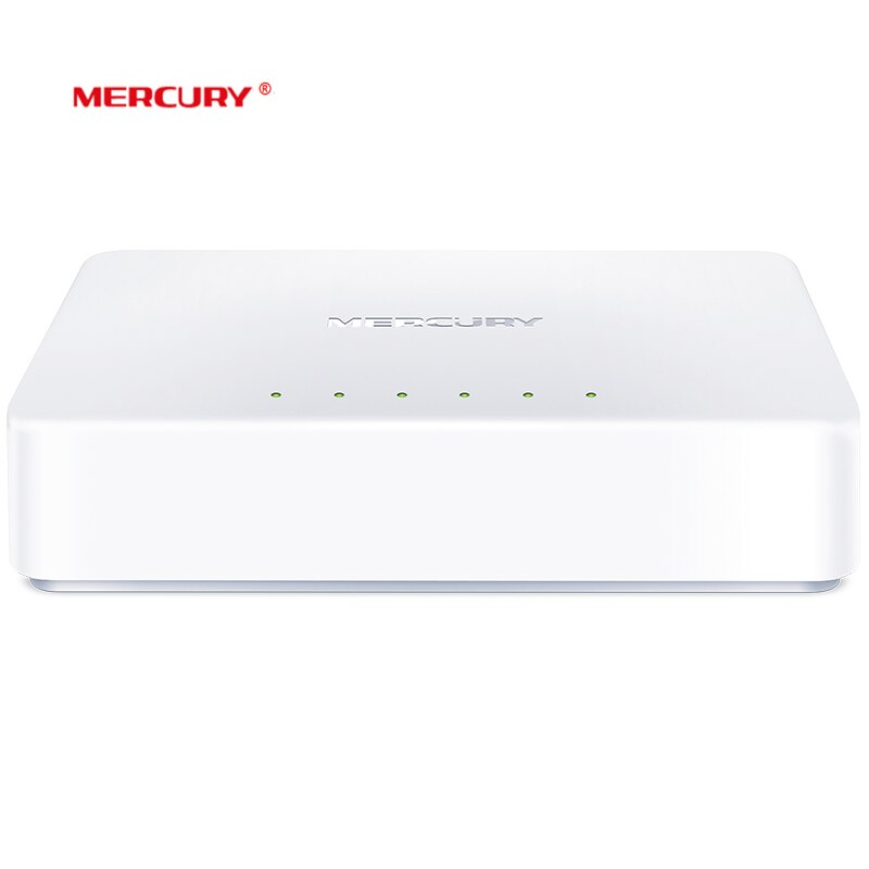 MERCURY S105C Ethernet Switch,Mini 5 Port Desktop Ethernet Network Switch,10/100Mbps LAN Hub,Small ,Plug and Play,Easy Setup