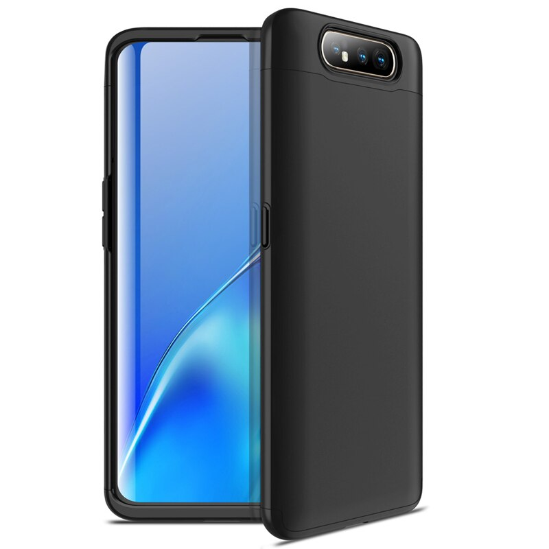 For Samsung Galaxy A80 Case Vpower Three-In-One 360 Full Protector Plastic Cases Cover for Samsung Galaxy A80 Phone Back Covers
