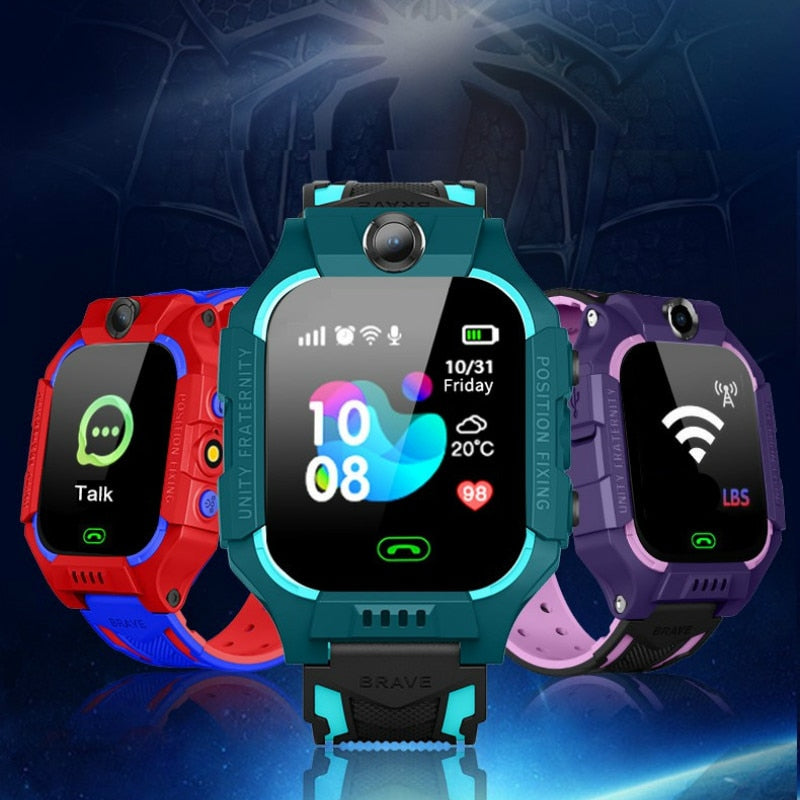 Q19 kids Smart Watch LBS Positioning Lacation SOS Camera Phone Smart Baby Watch Voice Chat Smartwatch VS Q02 Q528