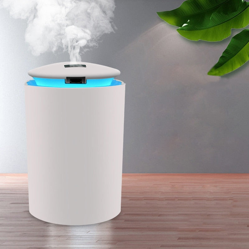 ELOOLE Mini Air Humidifier For Home USB Bottle Aroma Diffuser LED Backlight For Office Mist Maker Refresher Humidification Gift