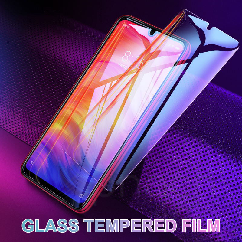 9H Protective Glass on the For Xiaomi Redmi 7 7A 6 Pro 5A 6A 5 Plus S2 K20 Note 7 6 Pro Screen Protector Tempered Glass Film