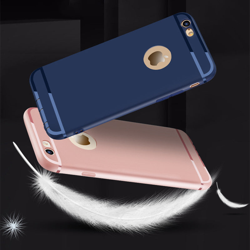Ultra Slim Silicone Case for iphone 7 6 6s 8 X Cover Coque Candy Colors Soft TPU Matte Phone Case for iphone7 8 plus XS MAX XR