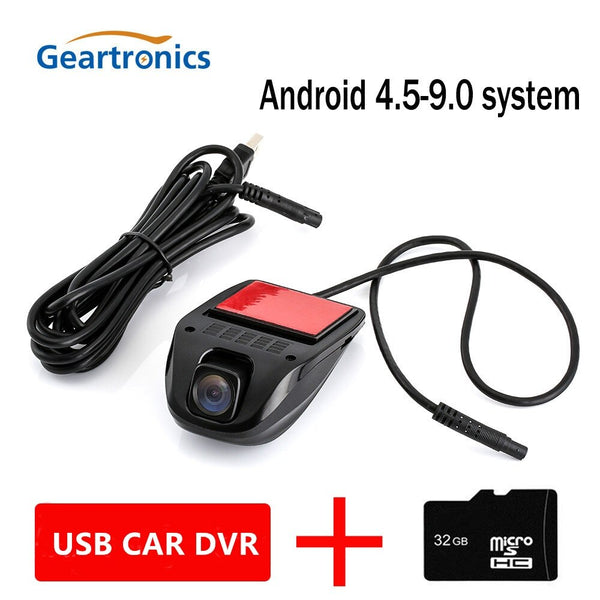 Car DVR Dash Cam USB dvr dash Camera Mini Portable Car DVR HD Night Vision Dash Cam Registrator Recorder For Android System