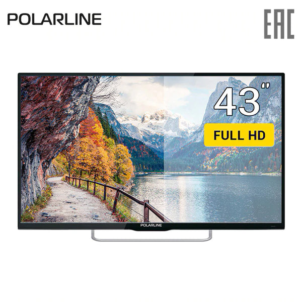 "TV 43"" Polarline 43PL51TC FullHD 4049inchTV dvb dvb-t dvb-t2 digital"