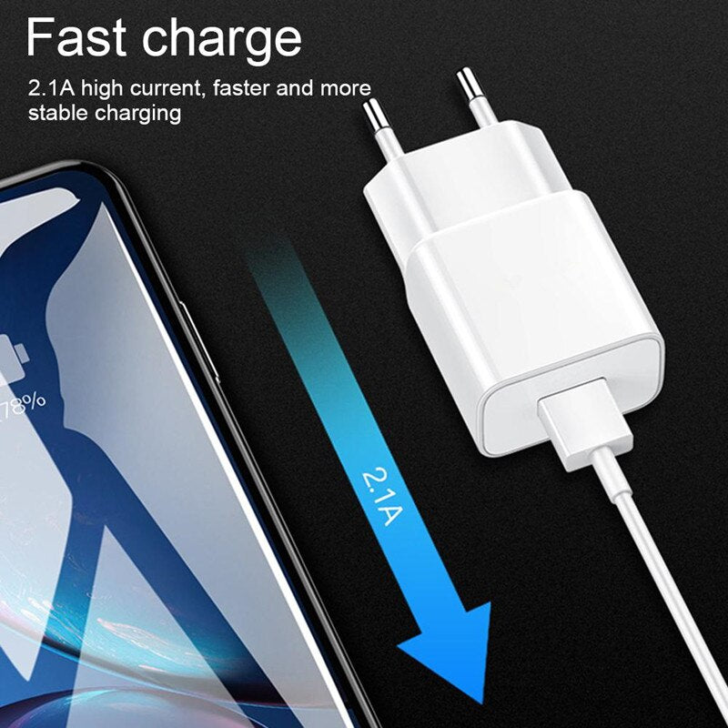 For Huawei P20 lite Charger Fast Charge Power Adapter For P10 Lite P9 P8 P30 Honor 9 play nova 3 4 4e p Smart z Micro Cable