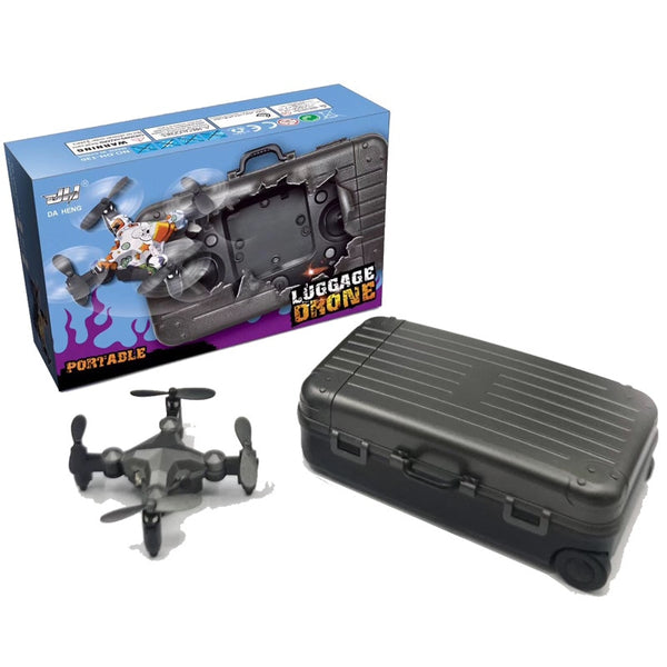 2.4G WIFI DH-120 Luggage drone mini folding quadcopter remote control altitude hold real-time transmission fpv 4-axis RC drone