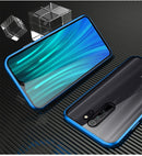 Double-sided Magnetic 360 Full Protect Case For Redmi Note 8 Pro Tempered Glass Back Cover for Xiaomi Note 8 Redmi Note 7 Case