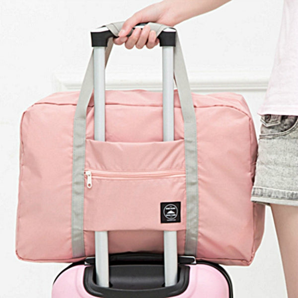 2019 New Nylon Foldable Travel Bag Unisex Large Capacity Bag Luggage Women WaterProof Handbags Men Travel Bags Free Shipping