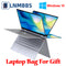LNMBBS 360° Laptop 13.3 inch Notebook 8GB LPDDR4 256GB SSD 1920*1080 IPS touch screen intel N4100 BT5.0 WIFI Camera slim laptop