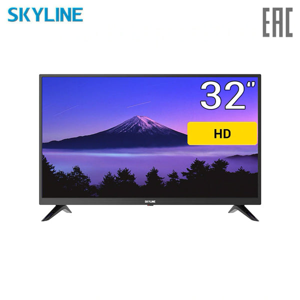 "TV 32"" SKYLINE 32YT5900 HD 3239inchTV dvb dvb-t dvb-t2 digital"