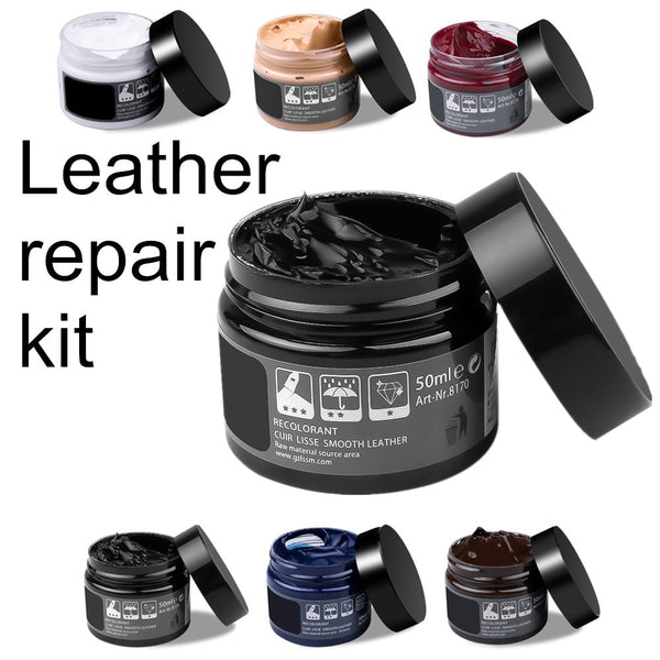 Car Care Kit Liquid Leather Skin Refurbish Repair Tool Auto Seat Sofa Coats Holes Scratch Cracks Restoration For Shoe For Car