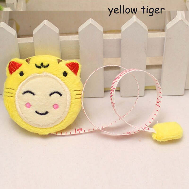 "150cm/60"" Tape Measure Portable Retractable Ruler Children Height Ruler Centimeter Inch Roll Tape Girls Gifts Sewing Tools"