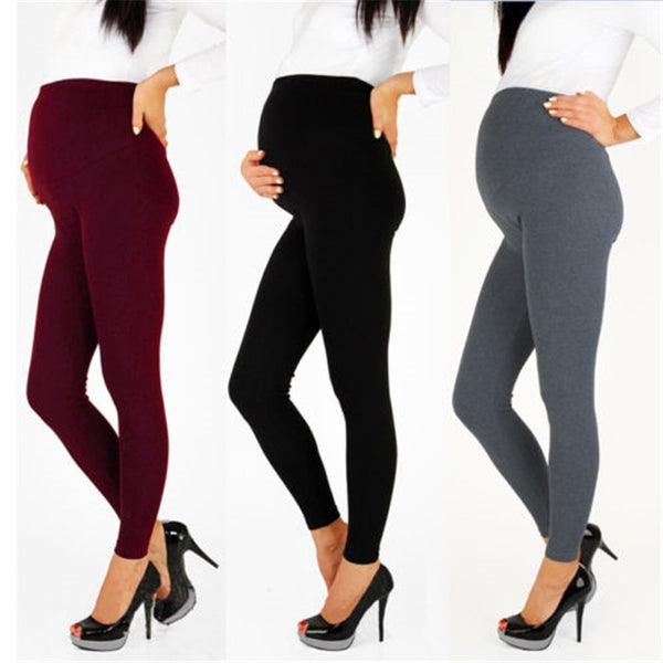 Maternity Warm Trousers For Pregnant Women Pregnant Pants Pregnancy Clothes Spring Summer 2018 Maternity  High Waist Trousers