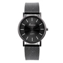 Geneva Women Top Brand Luxury Watch Woman's Bracelet Stainless Steel Delicate Dial Ladies Dress Clock Relogio Feminino Gift Q