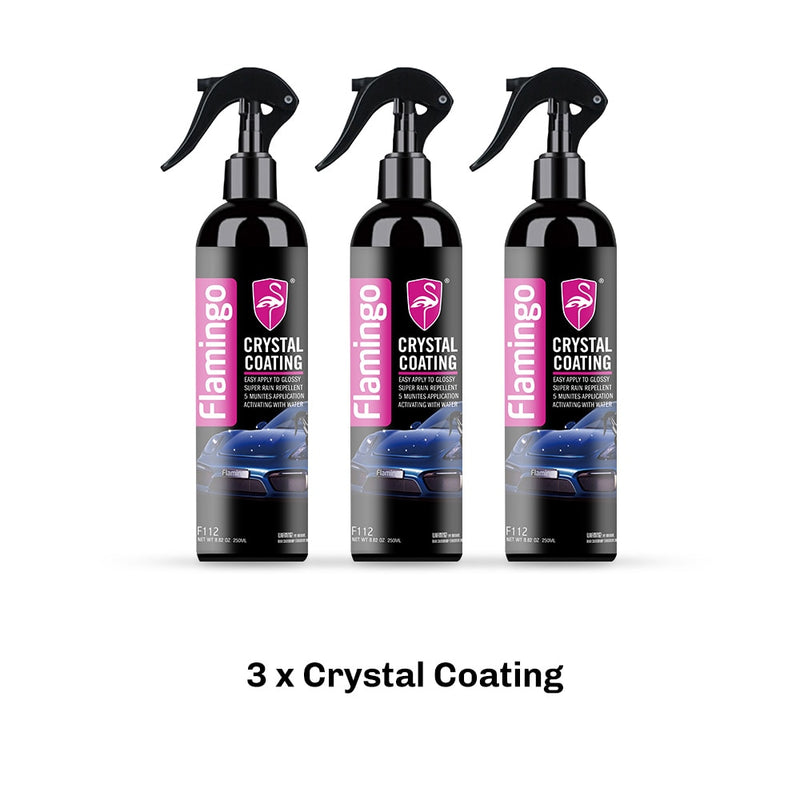 250ml Crystal Ceramic Car Coating Paint Care Nano Hydrophobic Coating Waterproof High Gloss Shine Liquid Polish Wax 8.82oz