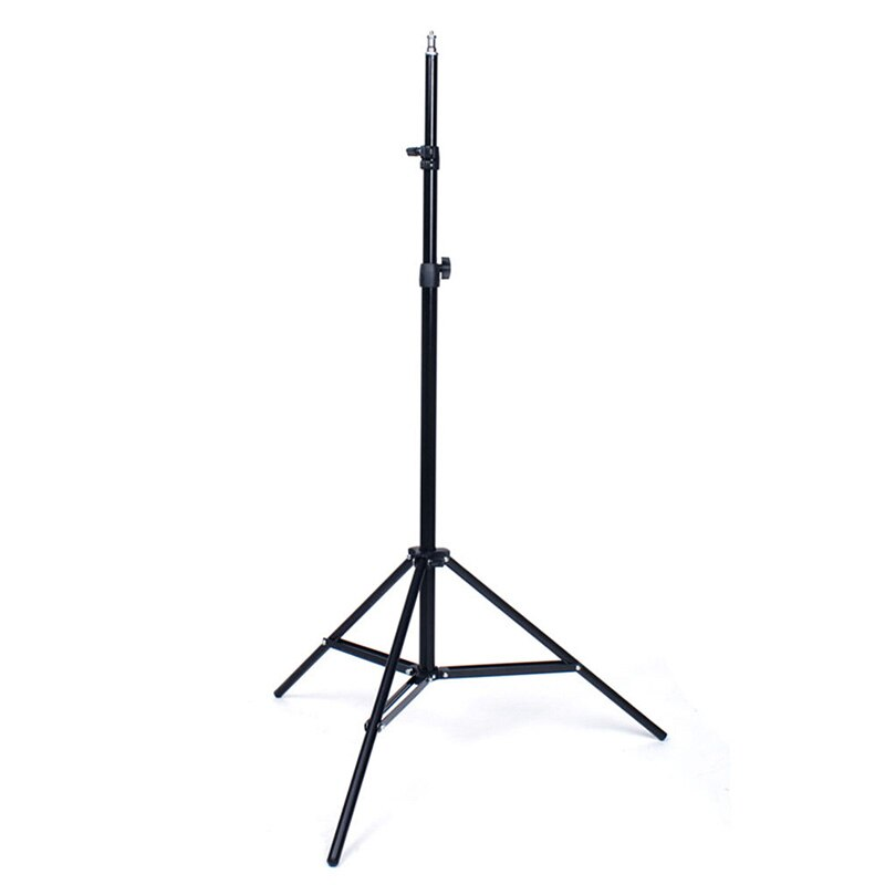 AABB-Professional Studio Adjustable Soft Box Flash Continuous Light Stand Tripod (Black)