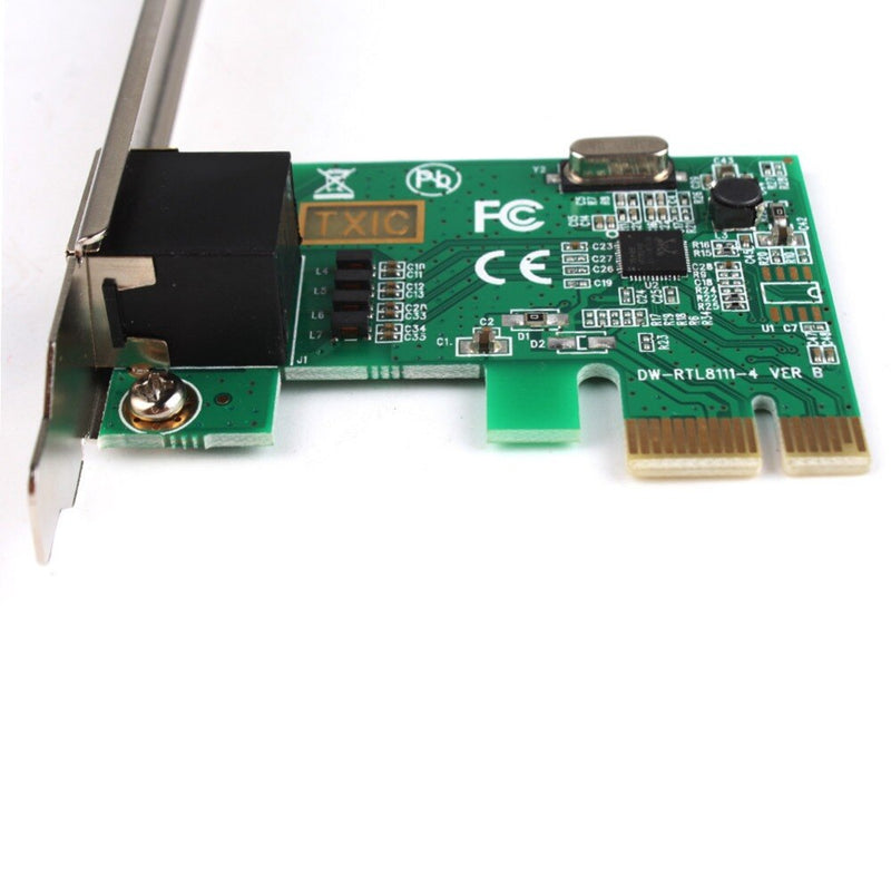 PCI-E 10/100/1000 Gigabit Network Ethernet Express Card