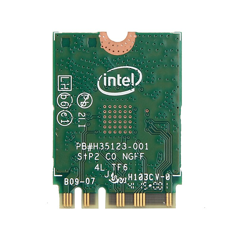 Dual Band Wireless-AC 3165NGW Bluetooth 4.0 For Intel 3165 M.2 NGFF 802.11ac WiFi WLAN Card 433Mbps + 2.4G/5Ghz