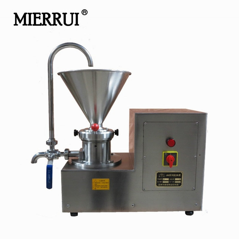 Industrial JMS-60 Gelgoog Colloid Mill Shea Nut Peanut Butter Making Machine South Africa