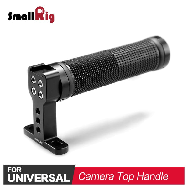 SmallRig DSLR Camera Handle Grip Stabilizer for Handheld Shooting W/ Cold Shoe Base Universal Soft Rubber Video Top Handle 1447