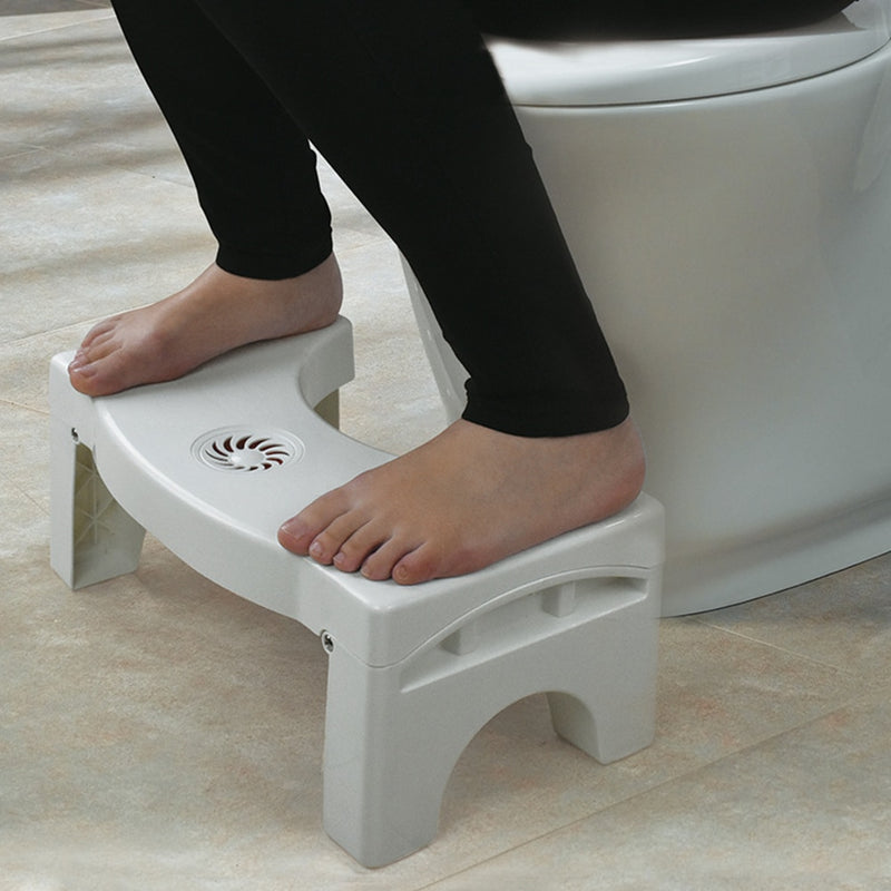 Bathroom Anti Constipation For Kids Foldable Plastic Footstool Squatting Stool Toilet