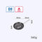 Justcook 20/24/28CM Frying Pan Non-Stick Grill Pans Egg Pancake Pan Cookware Cooking Pans