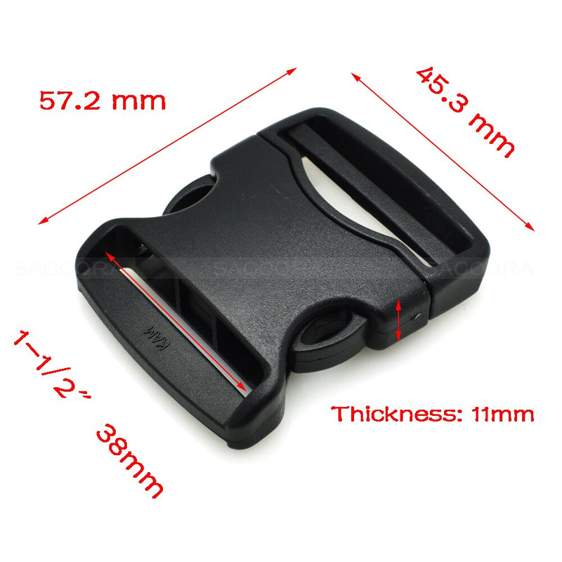 20mm 25mm 32mm 38mm 50mm Webbing Detach Buckle for Outdoor Sports Bags Students Bags Luggage travel buckle accessories