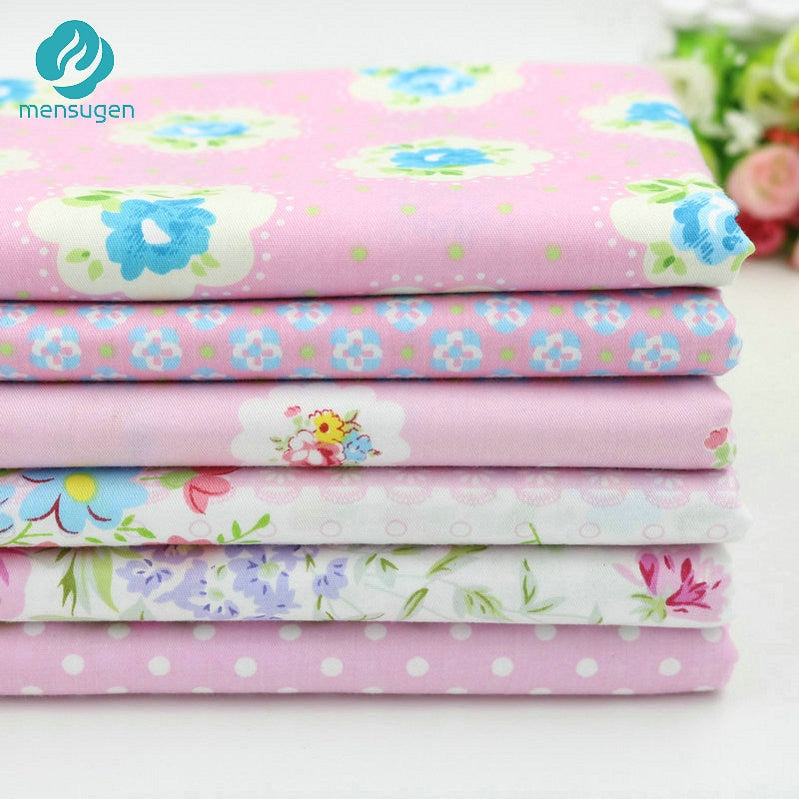 20cmx25cm and 25cmx25cm Cotton Fabric Printed Cloth Sewing Quilting Fabrics for Patchwork Needlework DIY Handmade Material