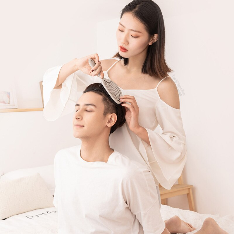 Xiaomi Mijia Xinzhi Relaxing Elastic Massage Comb Portable Hair Brush Massage Brush Anti-static Magic Brushes Head Combs