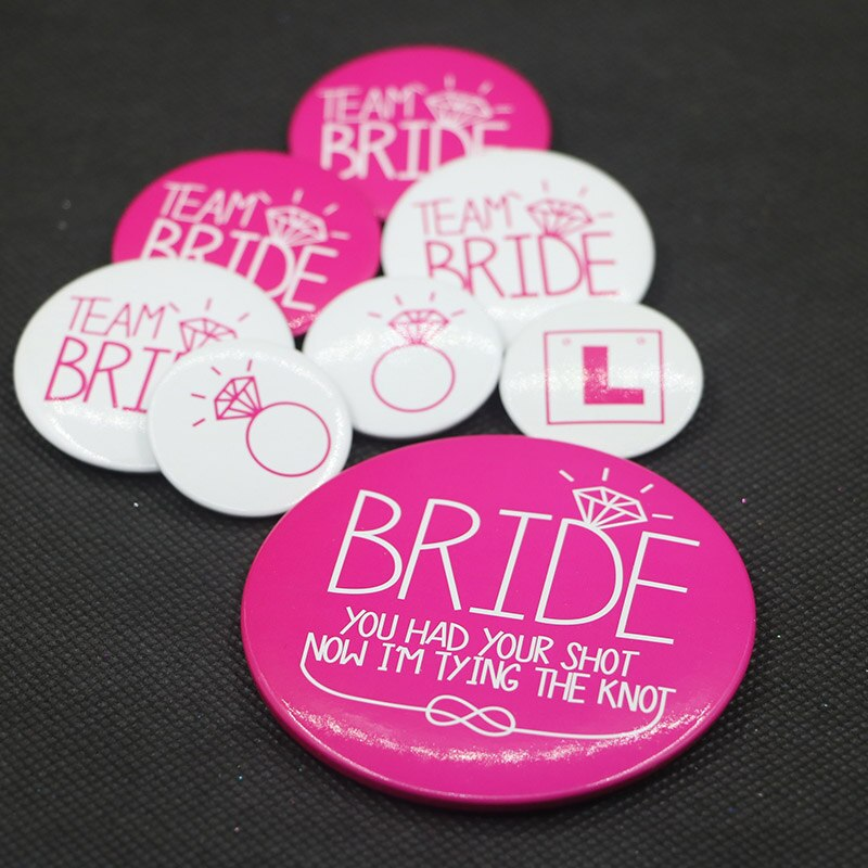 Wedding decoration Bride To Be Bachelorette Party Supplies team Bride Photo Props Set Sash Balloon Veil Hen Party Bridal Shower