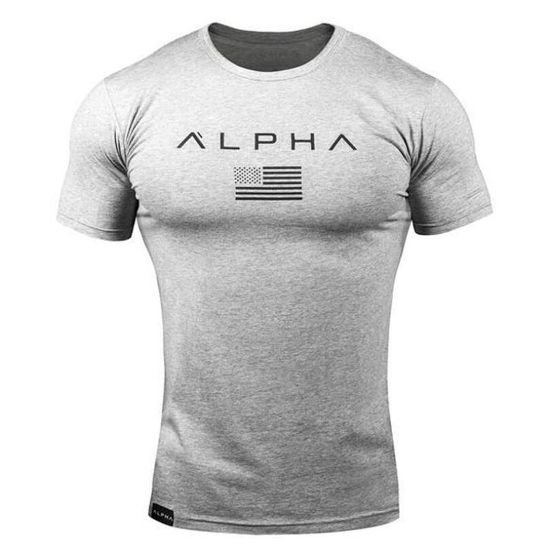 2019 Men Brand T Shirt Camouflage Bodybuilding Breathable Fit Cotton Shirts Men Short Sleeve Workout Male Casual Tees Tops