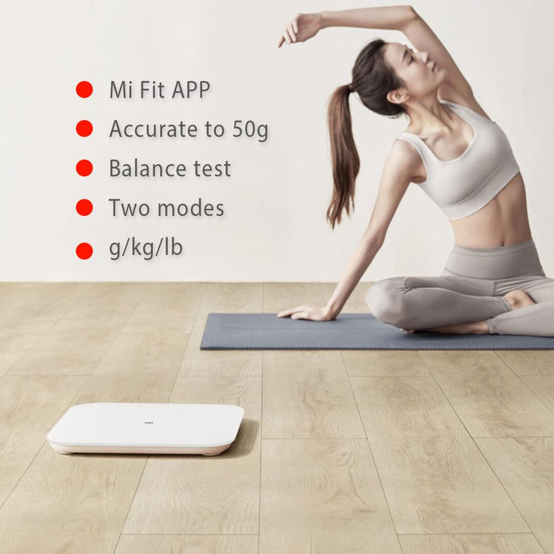 XIAOMI MIJIA Mi Smart Weight Scale 2 Bathroom Scales Digital Electronic Lose weight Bluetooth Fitness LED screen baby animal APP