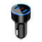 New Car Accessories 3.1A Dual USB professional Car Charger 2 Port LCD Display 12-24V Cigarette Socket Lighter For Smart Phone #