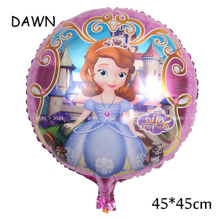 93*55cm Large Belle Cinderella Snow White Elsa Princess Foil Balloons Baby Birthday Party Decoration Helium Balloons kid gift