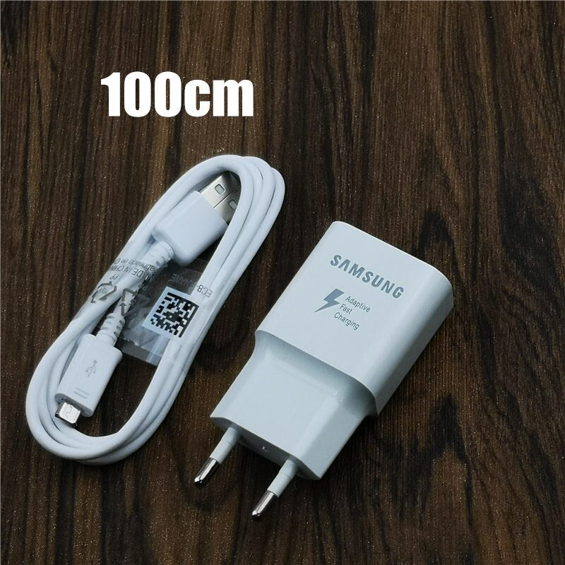 Original Samsung Fast Charger qc 3.0 quick charge Usb EU Power adapter For Galaxy a9 a8 a6 Note 4 5 J3 J5 2017 J7 S6 S7 edge S4