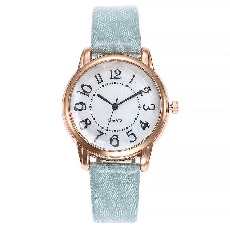 Vansvar Fashion Brand Women's Watches Quartz Leather Newv Strap Ladies Dress Luxury Watch Analog Mens Wrist Watch relogio