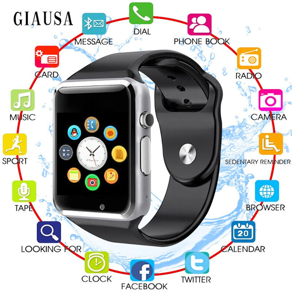 GIAUSA Smart Watch For Children Kids Baby 2G Sim Card Dail Call Watch Phone Touch Screen Waterproof Smart Clock Smartwatches