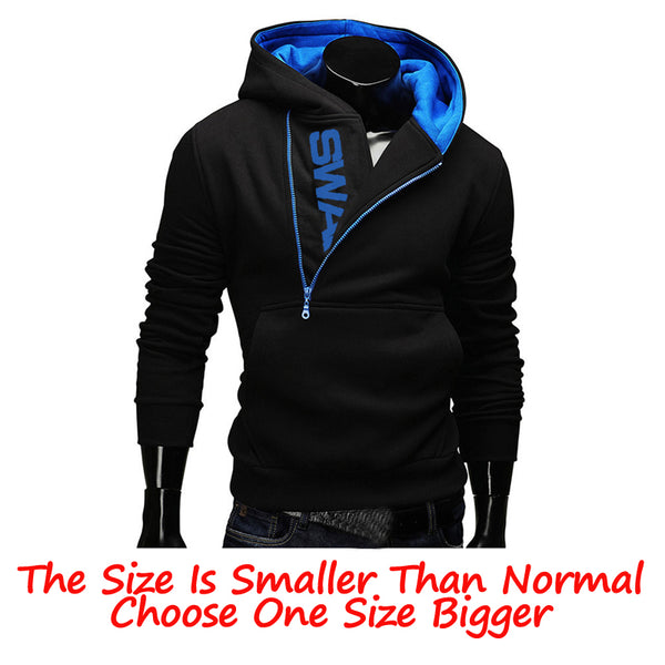 Hoodies Men 2019 Autumn Fashion Tracksuit Sweatshirt Men's Winter  Collar Cap Long Sleeves Pullover Hoody Sports Sweatshirts