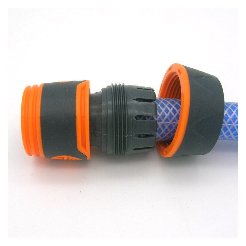 "Durable Water Sprinkle 3/4"" Water Hose Connector Pipe Adaptor Water Tap Hose Pipe Fitting Set connector with Rubber Material"