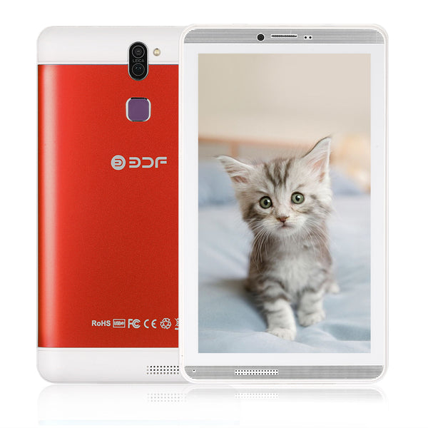 7 Inch Screen Android 6.0 Pc Quad Core 1+16GB Flash Built inside Dual Sim Card Phablet Tablet