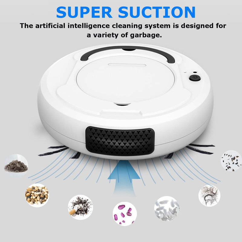 Hand Push Sweepers Clean Sweeping Robot Vacuum Cleaners Floor Dirt Dust Hair Sweeper for Home Electric Vacuum Cleaner
