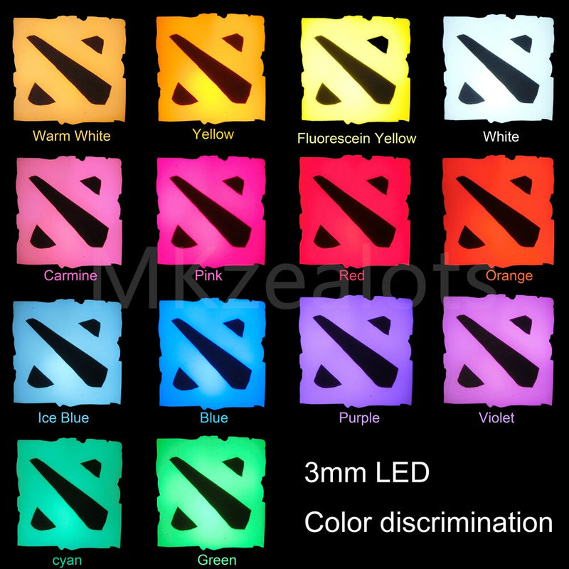 Mechanical keyboard special LED Bulb 3mm round Beads Ice Blue Rainbow For Cherry Gateron Kailh MX Switches 14 colors optional