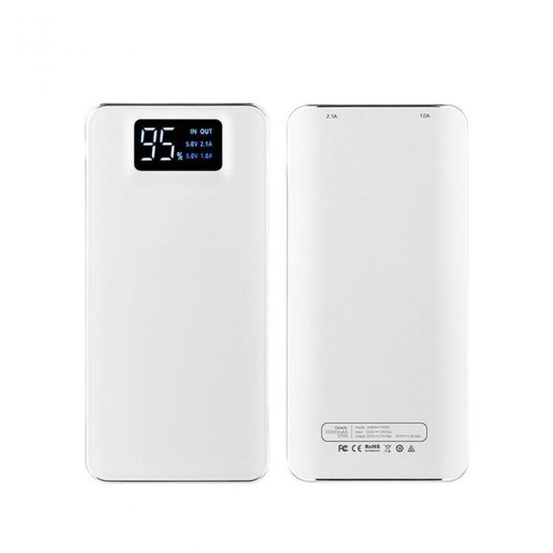 Outdoor Waterproof 20000mah Power Bank Charger External Battery LED Lighting Charging PowerBank for iPhone X 8plus Samsung